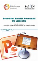 PowerPoint Business Presentation and Leadership